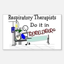 Respiratory Therapy VII Rectangle Decal