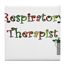 Respiratory Therapy VII Tile Coaster