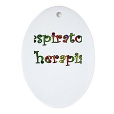 Respiratory Therapy VII Oval Ornament