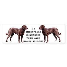 smart Chessie Bumper Car Sticker