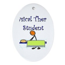 Physical Therapists II Oval Ornament