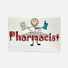 pharmacists II Rectangle Magnet