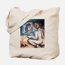 """Tote Bag With """"I'm Not Invisible"""" by Ann"""