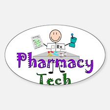 pharmacists II Oval Decal