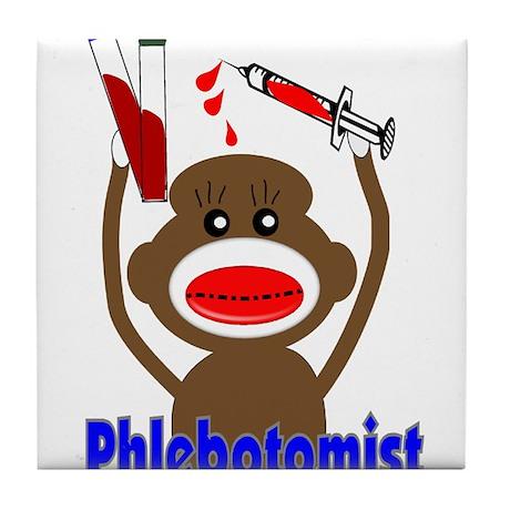 phlebotomist III Tile Coaster
