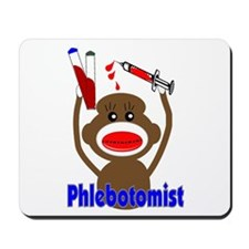 phlebotomist III Mousepad