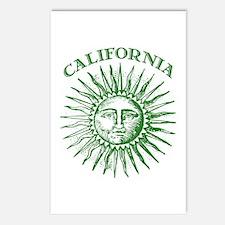 California Green Solar Energy Postcards (Package o