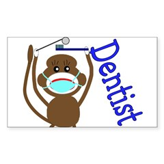 Dentist Rectangle Sticker 50 pk)