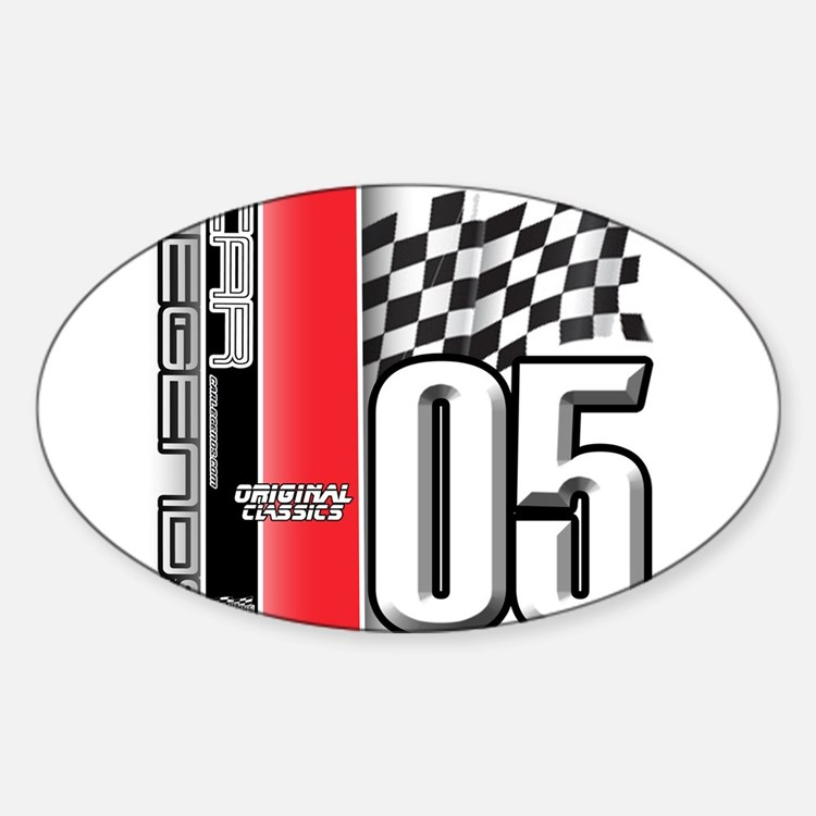 Mustang 2005 Oval Decal