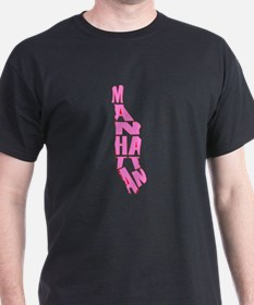 pink manhattan T-Shirt