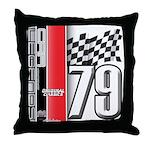 Mustang 1979 Throw Pillow