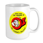 Don't Miss The Wizard Large Mug