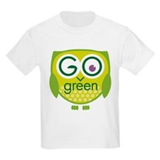 Go Green Owl T-Shirt