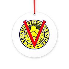 Captain Video Ranger Ornament (Round)