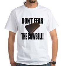 WHITE COWBELL T-SHIRT