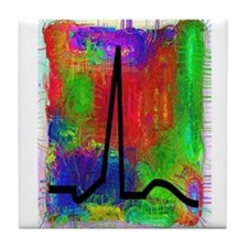 Cardiac Nurse/Physician Tile Coaster