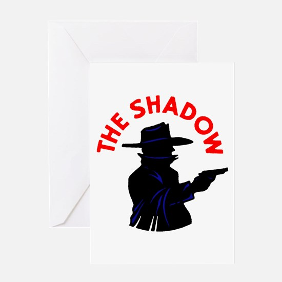 The Shadow #3 Greeting Card