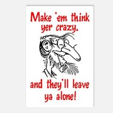 Crazy Postcards (Package of 8)