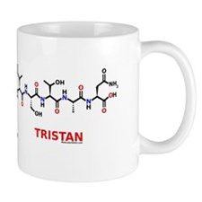 Tristan name molecule Mug