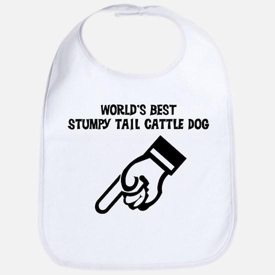 World's Best Stumpy Tail Catt Bib