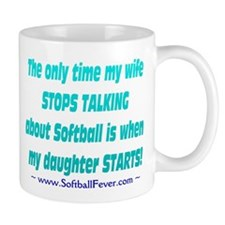 Wife Talks Small Mug