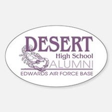DHS Alumni Logo Oval Decal