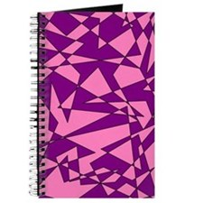Pink and Purple 'Random Graphic' Journal