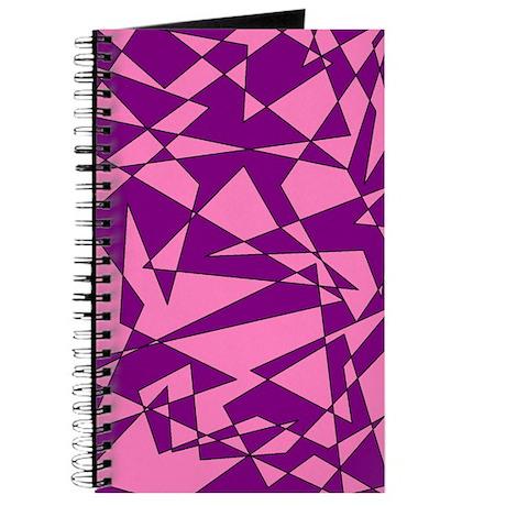 Pink and Purple 'Random Graphic' Journal