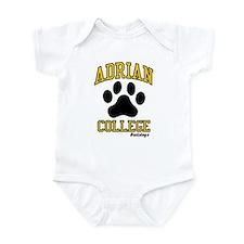 Cute Adrian college Infant Bodysuit