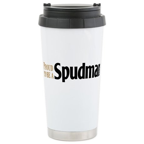 Proud to be a Spudman Stainless Steel Travel Mug
