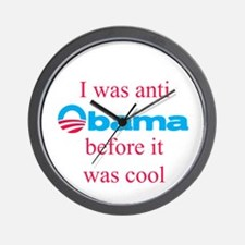 Anti Obama before it was cool Wall Clock