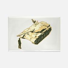 Tienanmen Tank Man Rectangle Magnet