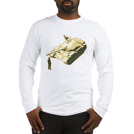 Tienanmen Tank Man Long Sleeve T-Shirt