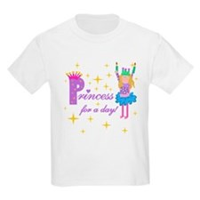 Princess For a Day Kids T-Shirt