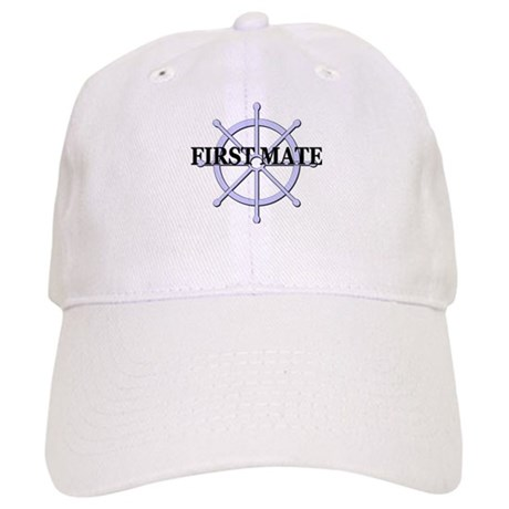 First Mate Ship Wheel Cap