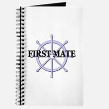 First Mate Ship Wheel Journal