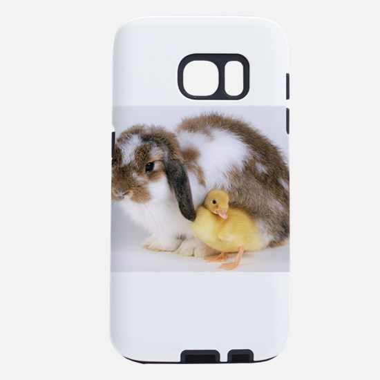 Yellow Duckling And Baby B Samsung Galaxy S7 Case