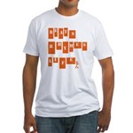 beats rhymes life Fitted T-Shirt
