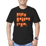beats rhymes life Men's Fitted T-Shirt (dark)