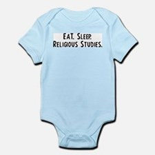 Eat, Sleep, Religious Studies Infant Creeper