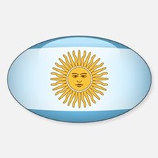 Argentina Oval Decal