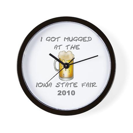 Iowa State Fair Wall Clock
