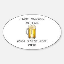 Iowa State Fair Oval Decal