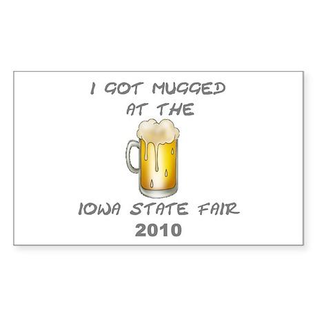 Iowa State Fair Rectangle Sticker