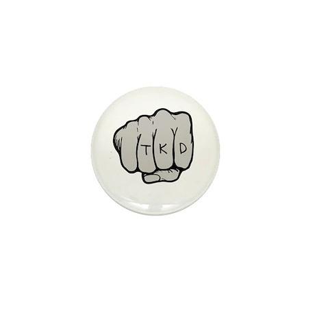 TKD Fist Mini Button (10 pack)