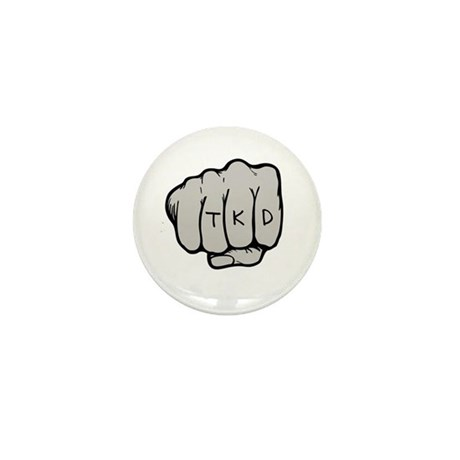 TKD Fist Mini Button