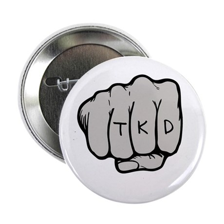 "TKD Fist 2.25"" Button (10 pack)"