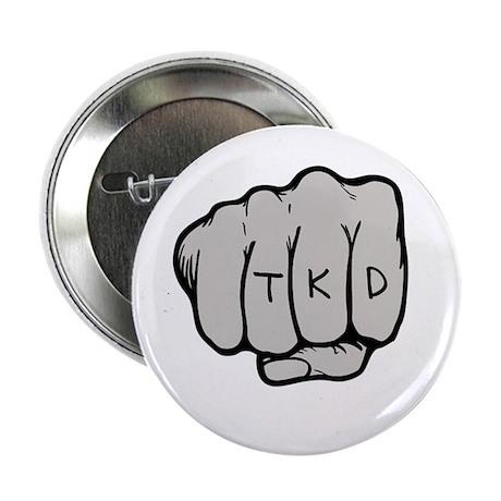 """TKD Fist 2.25"""" Button"""