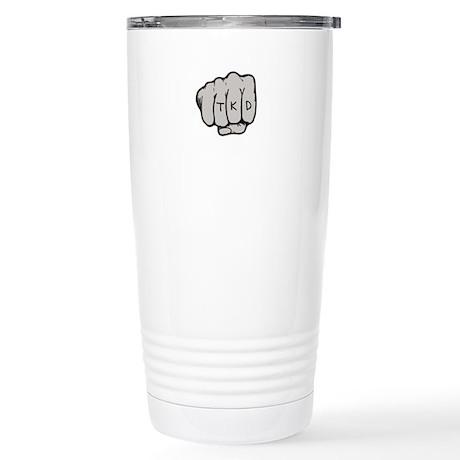 TKD Fist Stainless Steel Travel Mug