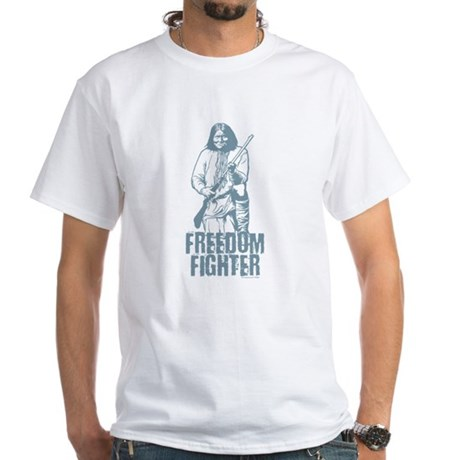 Geronimo Freedom Fighter White T-Shirt